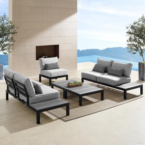Ensemble sofa extérieur 5 pièces Colonial
